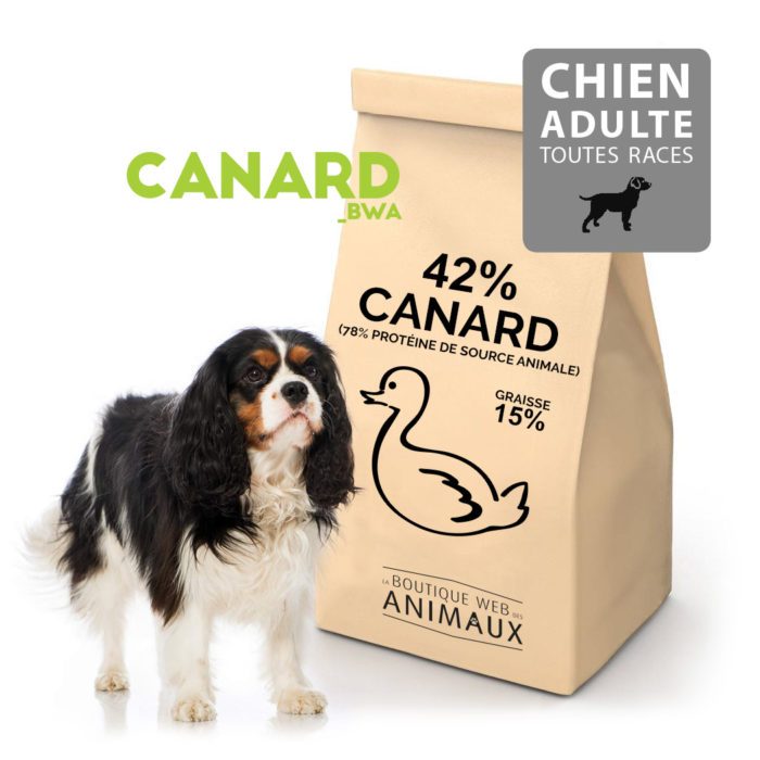 Croquettes pour chiens adultes CANARD_BWA