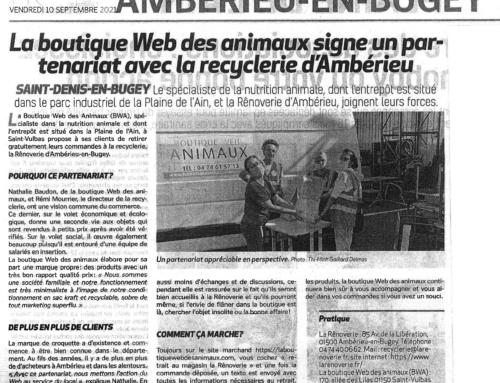 Notre nouveau point de collecte à Ambérieu
